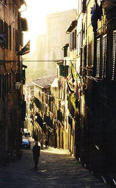 Back in Siena