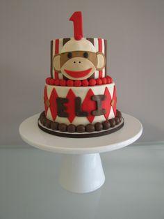 birthday parti, sock monkeys, bday, birthdays, birthday idea