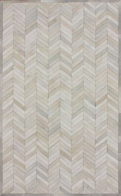Furnish Fabulously. Marquis Chevron Natural Rug.