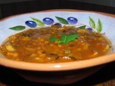 Curry Potato Lentil Soup.