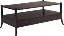 Three Drawer Coffee Table - Baker The Barbara Barry Collection