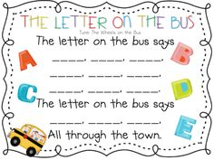 Letter Sounds Song