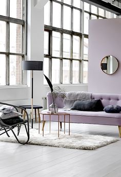lilac, navy and grey // Bloomingville's new Autumn Winter 2014 Catalog
