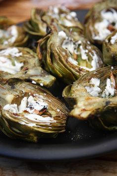Summer side recipe: Grilled baby artichokes