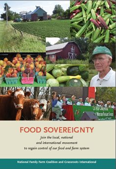 Agriculture, Food Sovereignty