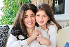Cristina Carlino and daughter Grace:  Cristina--what an amazing woman (here with her proudest creation!) ---bounding with creativity, a gentle soul, and a mind like a steel trap--I was lucky enough to work  directly for her at philosophy, an inspiration to us all.