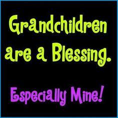 Especially mine! grandkid, grandpar, famili, bless, nana, grandchildren, grandson, quot, grandma