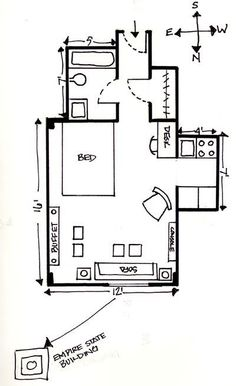 """#30 - Ron's 300 sq ft Hotel """"Sweet"""""""