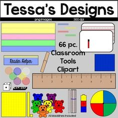 Classroom Tools Clipart