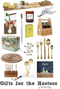 Great Hostess Gifts for Holiday Parties #hostess
