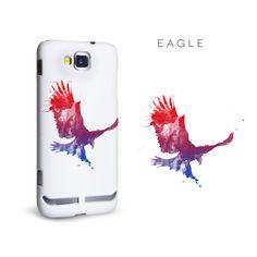Eagle watercolour phone case, #Red #Purple #Blue #Illustration #Eagle #MobileMadhouse #Ideas #Design #Case #Cover #Bird #Watercolour #Paint #Animal