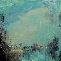 title unknown ~ oil and mixed media ~ by aileen chong