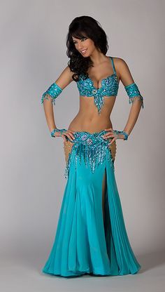 Ameera in her Turquoise Sparkle Bella