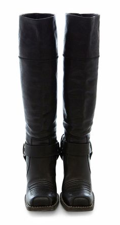 DIOR - Black Leather Boots