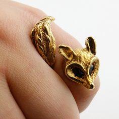 gold Fox`ring