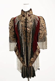 Jacket ca. 1883, Lord & Taylor/New York (founded 1823), American (silk, glass beads, metallic thread)