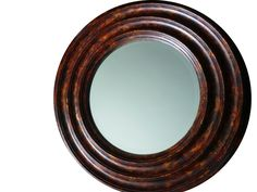Mirror completed with faux tortoise shell finish 8