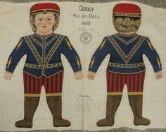 cloth doll panel