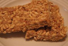 Peanut Butter Pretzel Rice Crispies Bars