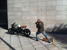 Action photographer for The EX BMW n. #001 Milano ,Fashion week. WOB-WORKSONBIKES.COM