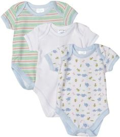 Spasilk 3 Pack Bodysuit - Boy Prints, Amazon Gold Box Deal through 2/23/2012, (list price: $12.99) Deal Price: $9.74. For more deals, follow pinterest.com/pinazon.