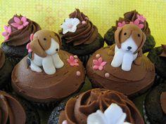 Beagle cupcakes!