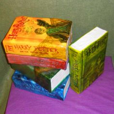 Harry potter cake!!  http://www.glamourpartyplanner.com/gallery/Pretty%20Party%20Cakes%20&%20Desserts/Harry%20Potter%20Books%20Cake.jpg Harri Potter, Book Seri, Specialty Cakes, Harry Potter Cakes, Cake Wreck, Read Books, Cover Art, Book Cakes, Themed Cakes