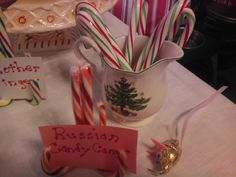 Russian Candy Canes