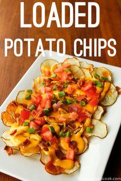 Loaded Potato Chips Recipe