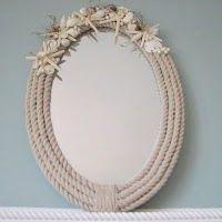 Rope Trim Mirror