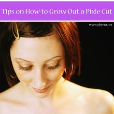 How to Gracefully Grow Out a Pixie Cut via @Phyrra