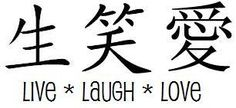 live laugh love tattoo idea