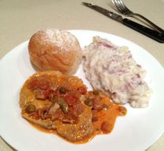 Souper Pork Chops with Cream Cheese and Dill Mashed Potatoes