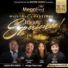 MegaFest 2015 is coming back to Dallas! Special registration rates at http://Mega-Fest.com  Register NOW!