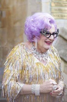 I heart Dame Edna