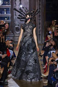 Gothic Couture: at Giles Spring 2013 London FW Show. Via Fashionista.com.