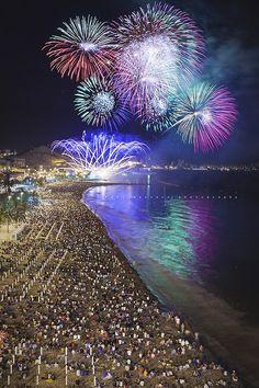 Postiguet Beach, Alicante, Spain by Raúl Barrero
