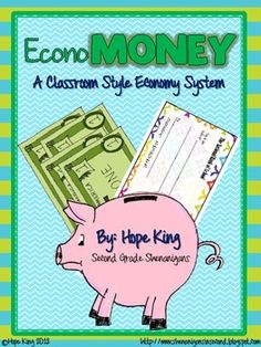 This 144 page file includes everything you need to implement a booming economy directly into your classroom all year long.