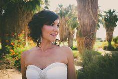 The Bride | Real Wedding ♥ Jamie and Phil ♥ Outdoor ceremony #golfcoursewedding #outdoorwedding #outdoorceremony #desertwedding #californiawedding #palmspringswedding #palmdesertwedding #southerncaliforniawedding #bride