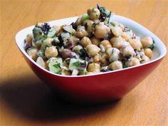 A great fall classic - Greek Style Chickpea Salad!