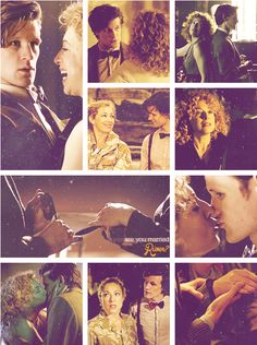 [gif set] River and the Doctor