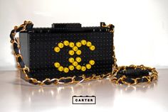 LEGO 'Tribute to Chanel' 2.55 bag by Matthew Carter