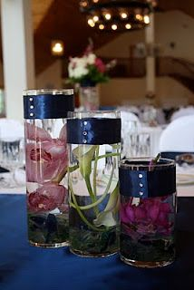 Hot Pink and Navy September wedding: Krystle and Jared 9.11.2010 Spruce Point Inn | Flora Fauna