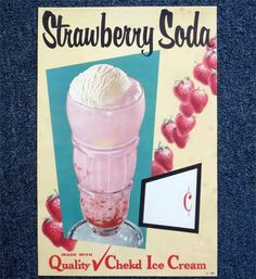 Strawberry Soda! http://fave.co/1qgBUdy Atomic Dimestore