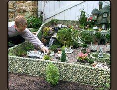 Fairy garden playground village. Sweet!