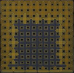 Dan Walsh (b. 1960). Stall, 2011; acrylic on canvas, 40 x 40 in.