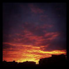 #Amaneceres de Logroño