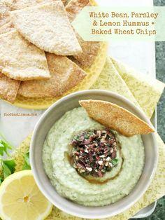 Lemony White Bean Hummus by Foodtastic Mom