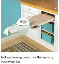 pull out ironing board. Brilliant.