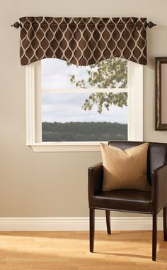 Curtain & Bath Outlet - Raven Valance Curtain